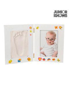 Portafotos para Bebé con Kit de Yeso Manualidades Junior Knows 0