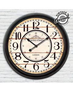 Reloj de Pared Estación London Vintage Coconut 0