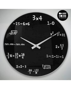 Reloj de Pared Matemáticas Oh My Home