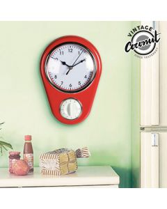 Reloj de Pared Cuentaminutos Vintage Coconut 0