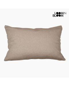 Cojín (30 x 50 x 10 cm) algodón y poliéster Marrón 0