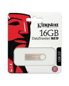 Pendrive Kingston FAELAP0171 DTSE9H 16 GB USB 2.0 Plateado Metal