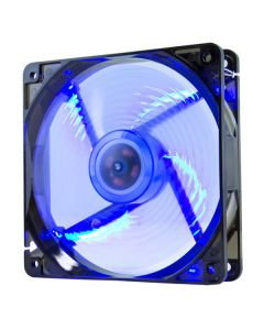 Ventilador de Caja NOX NXCFAN120LBL Cool Fan 12 cm LED Azul 0