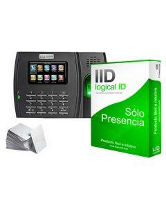 Sistema de Control de Acceso Biométrico LID LID30 Negro (30 Licencias) 0
