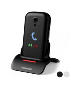 "Teléfono Móvil para Mayores Swiss Voice Voice S28 2,8"" Bluetooth WiFi 0"