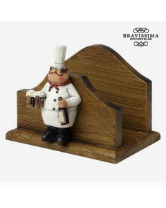 Servilletero  Bravissima Kitchen 8953 (13 x 10 x 10,1 cm) 0