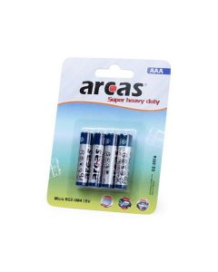 Pilas AAA/R03 1,5V (4 uds) 142309 0
