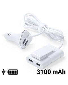 Cargador USB para Coche 4 Puertos 3100 mAh 145209 0