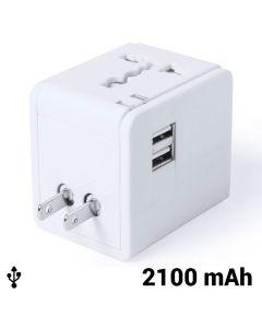 Adaptador para Enchufes 2100 mAh 145303 0