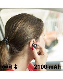 Cargador USB para Coche con Auricular Manos Libres 2100 mAh Bluetooth 145527 0