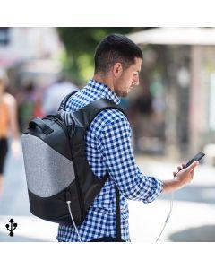 Mochila Antirrobo con USB y Compartimento para Tablet y Portátil 145947 0