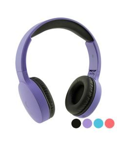 Auriculares de Diadema Plegables con Bluetooth KSIX Go & Play Travel 0