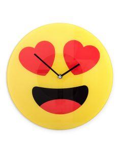Reloj de Pared Emoticono Corazones Gadget and Gifts 0