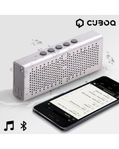 Altavoz Bluetooth Waterproof CuboQ Metal 0