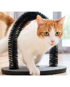 Rascador para Gatos y Arco Masajeador InnovaGoods 0