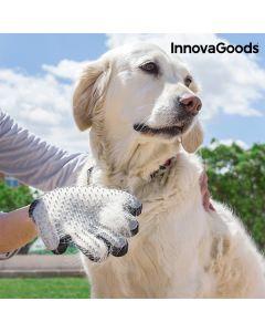 Guante para Cepillar y Masajear Mascotas InnovaGoods 0