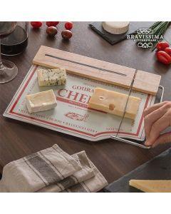 Tabla de Cocina con Cortador para Quesos Bravissima Kitchen 0