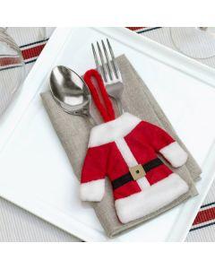 Traje de Papá Noel para Cubiertos Christmas Planet