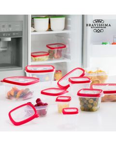 Fiambreras Bravissima Kitchen (24 piezas)