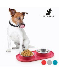 Comedero-Bebedero para Animales Antideslizante Pet Prior 0