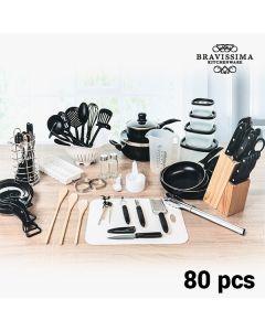 Set de Cocina Bravissima Kitchen (80 piezas) 0
