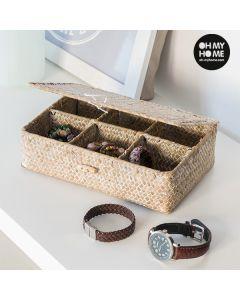 Caja Organizadora de Ratán Oh My Home 0