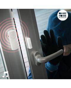 Alarma Inalámbrica con Sensor de Contacto Oh My Home (Pack de 3) 0