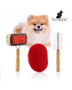 Set de Cepillos para Perros Collection Pet Prior (3 Piezas) 0