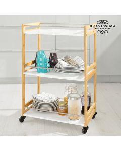 Carrito Camarera de Bambú Bravissima Kitchen