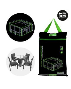 Funda Impermeable para Mesa y Sillas de Jardín Oh My Home 0
