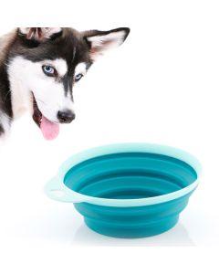 Comedero Plegable de Silicona para Mascotas Heart 0