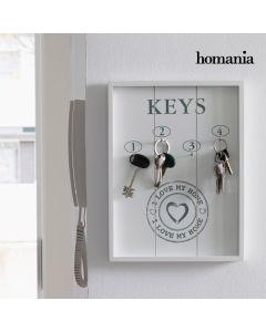 Cuadro Organizador de Llaves I Love My Home by Homania 0