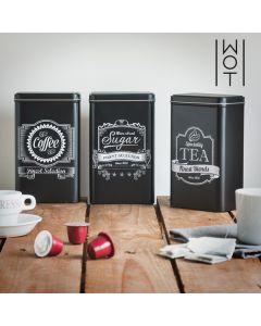 Cajas Metálicas de Cocina Wagon Trend (pack de 3)