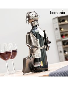 Botellero de Metal Businessman by Homania
