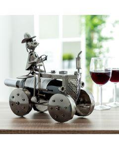 Botellero Metálico Tractor