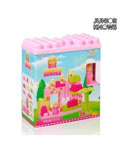 Juego de Bloques de Construcción Castle Junior Knows (36 piezas)