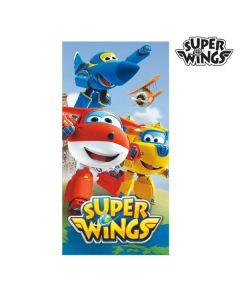 Toalla de Playa Azul Super Wings 0
