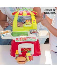 Juego de Comida Rápida con Accesorios Junior Knows 0