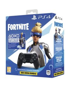 Mando Dualshock 4 V2 para Play Station 4 Sony Fortnite 2019 Negro 0