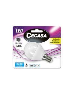 Bombilla LED Esférica Cegasa E14 5,5 W A+ 0