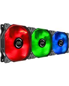 Ventilador de Caja Mars Gaming MFRGBKIT 1200 RPM LED RGB Ø 12 cm (3 pcs) (Reacondicionado A+) 0