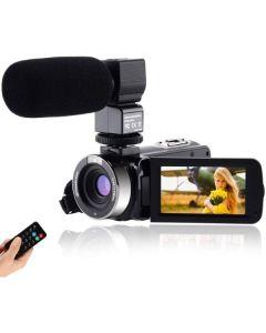 "Videocámara CofunKool 3"" 24 MP FHD 1080p Negro (Reacondicionado A+) 0"