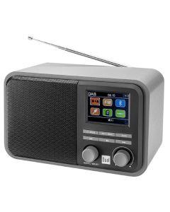 Radio Portátil Bluetooth Dab 51 USB SD FM MP3 Gris (Reacondicionado A+) 0