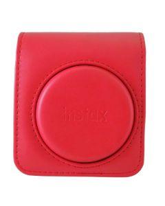 Funda para Cámara Fotográfica Fujifilm Instax Mini 70 Polipiel Rojo (Reacondicionado A+) 0