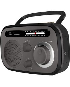 Radio Portátil SY1657NG AM FM Negro (Reacondicionado A+) 0