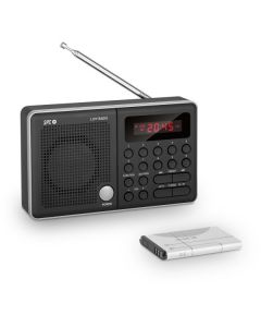 Radio Transistor Ultimate Design Sintonizador AM/FM 600 mAh Negro 0