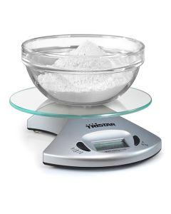 Báscula Digital de Cocina Tristar KW2431 5 kg Transparente 0